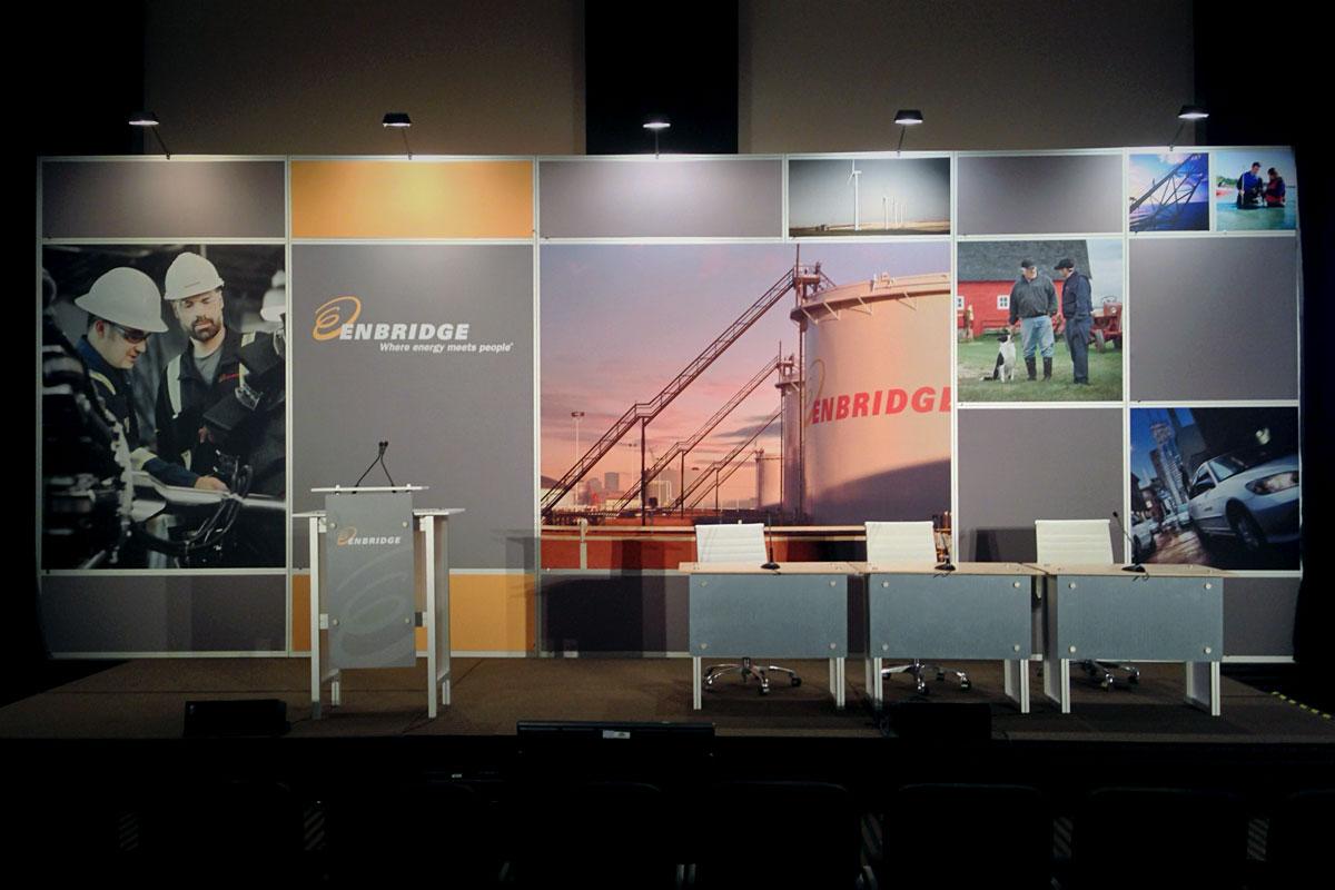 Enbridge - 10' x 30' Modular Stage Set Display