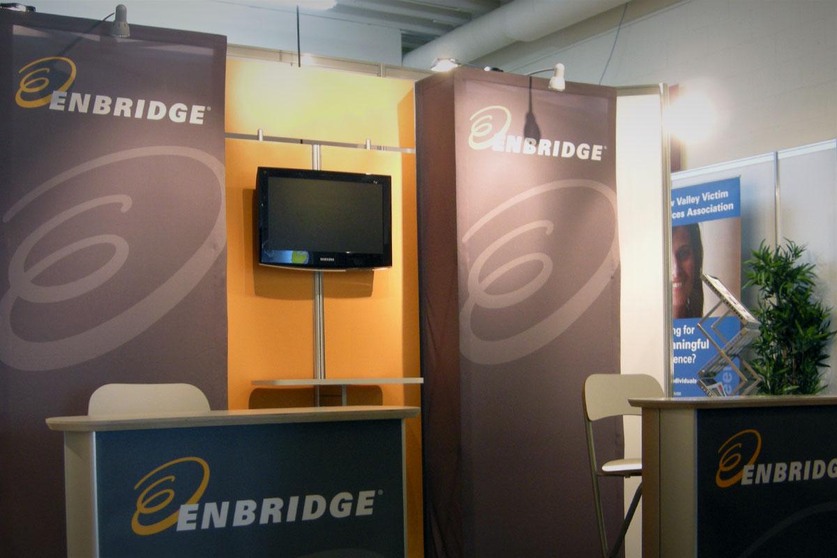 Enbridge - 10' x 10' Portable HR Display