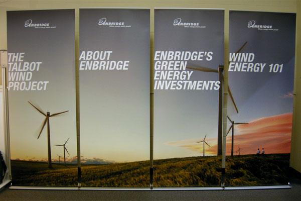 Enbridge - Supreme Banner Stands