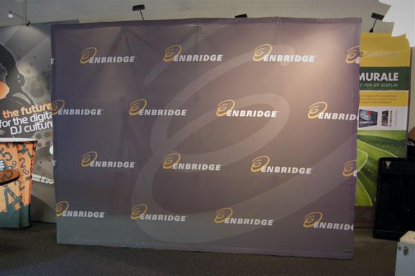 Enbridge - 10' Murale Pop-Up
