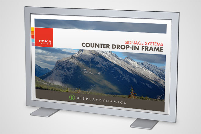Counter Drop-In Frame