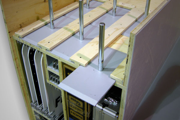Custom Crates - Pre-assembled display components