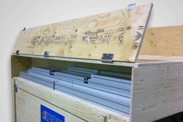 Custom Crates - Staying organized