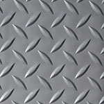 Diamond Plate Silver