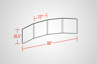 EasyWall 2201 (4 Panel)