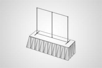 4' x 6' Flat (Tabletop)