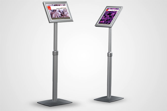 Flexible Poster Stand