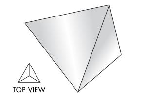 3-Sided Pyramid