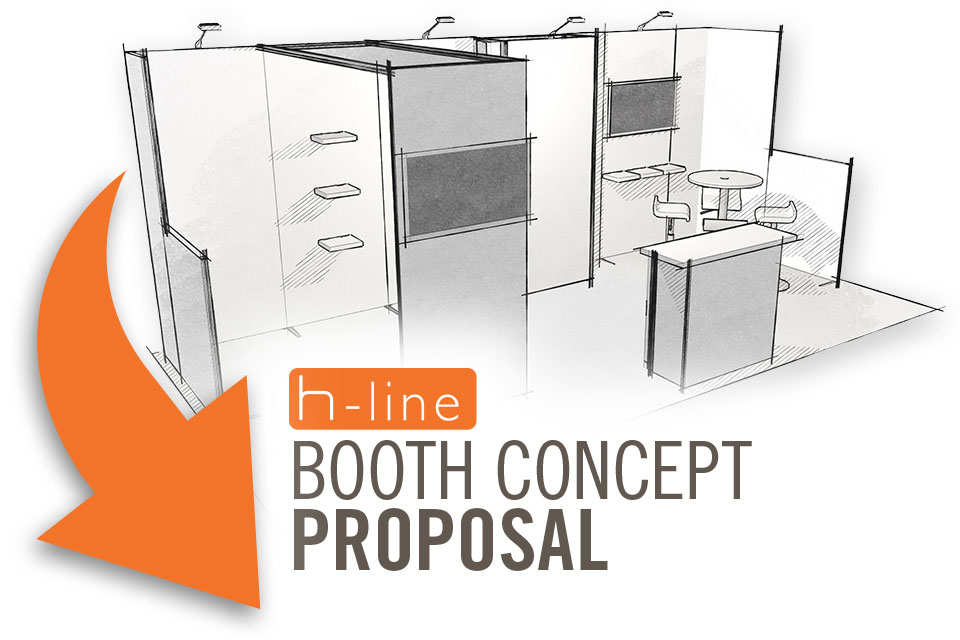 Exhibition Booth Proposal : H line booth concept proposal