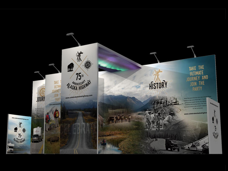 H-line 10' x 20' Exhibit Render - Alaska Highway