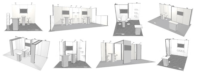 H-line Exhibits - Trade Show Booth Kits