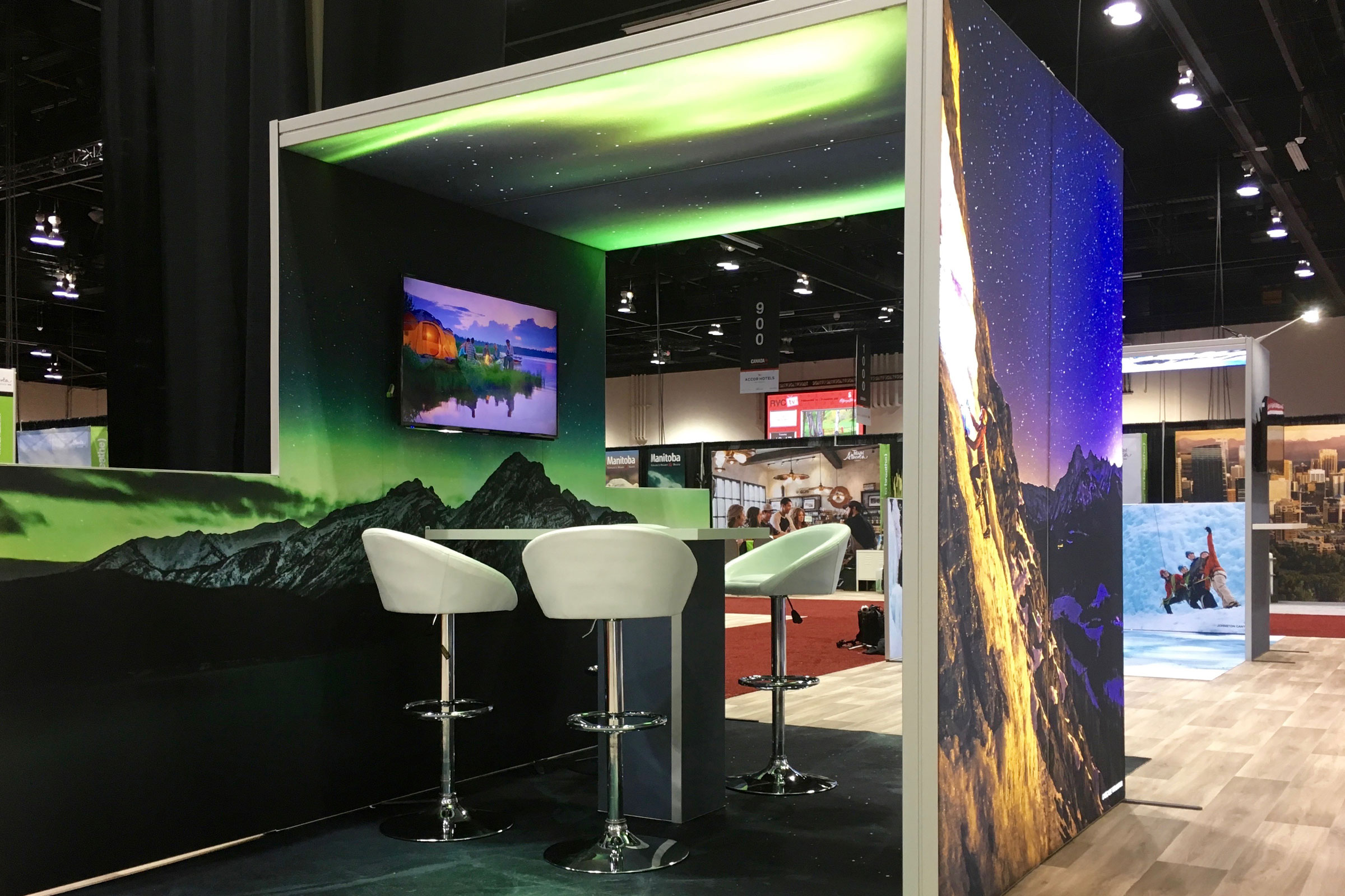 H-line 24' x 58' Exhibit - Travel Alberta RVC2017