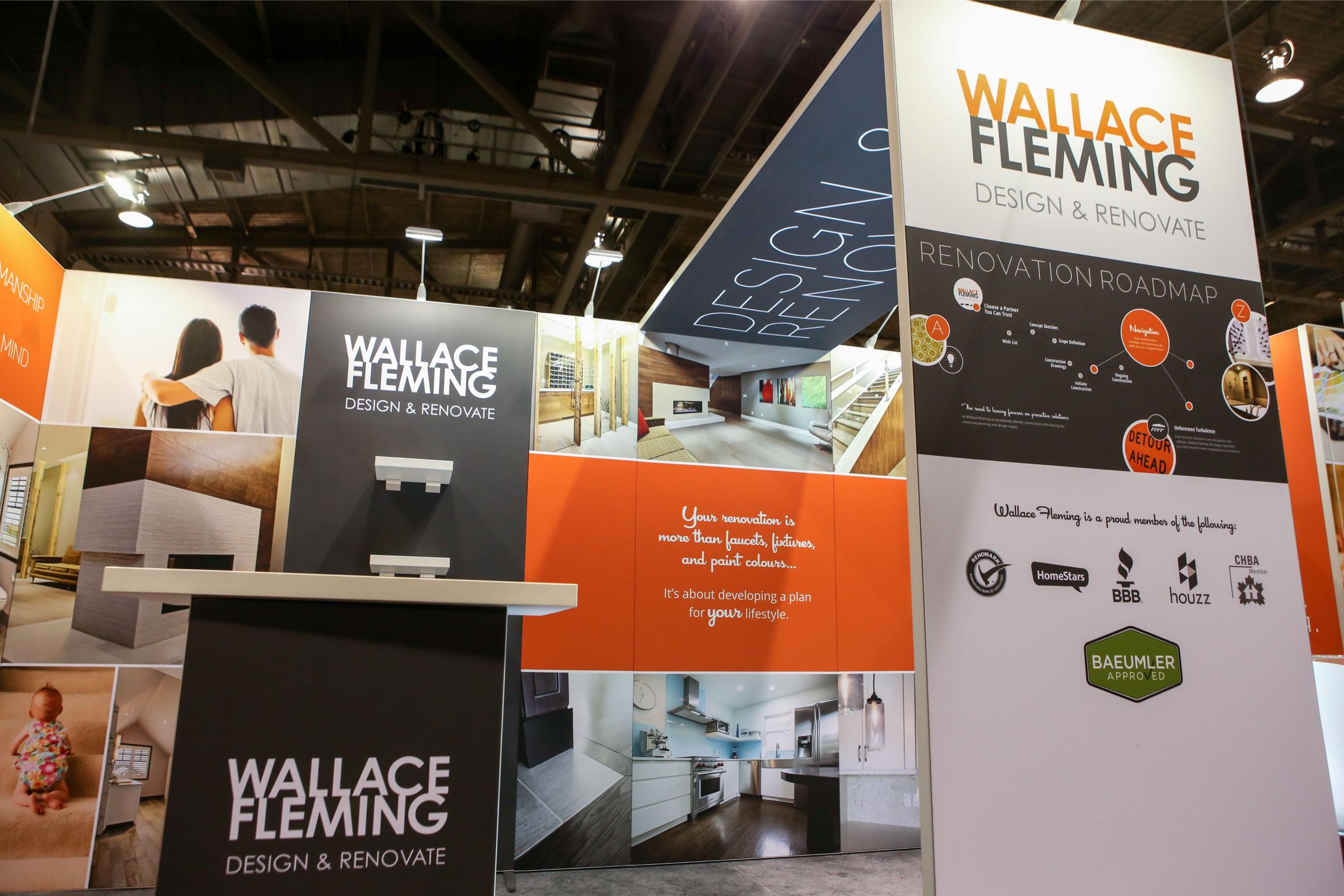 H-line 10' x 20' Exhibit - Wallace Fleming
