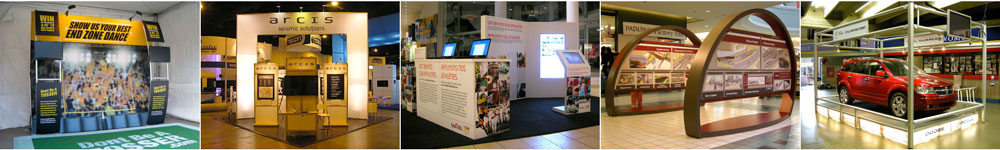 Display Solutions for Trade Shows, Corporate Events and Retail & Showroom Environments