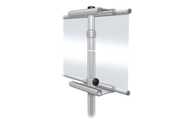Hybrid Banner iPad Stand