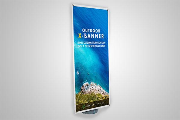 Outdoor X-Banner