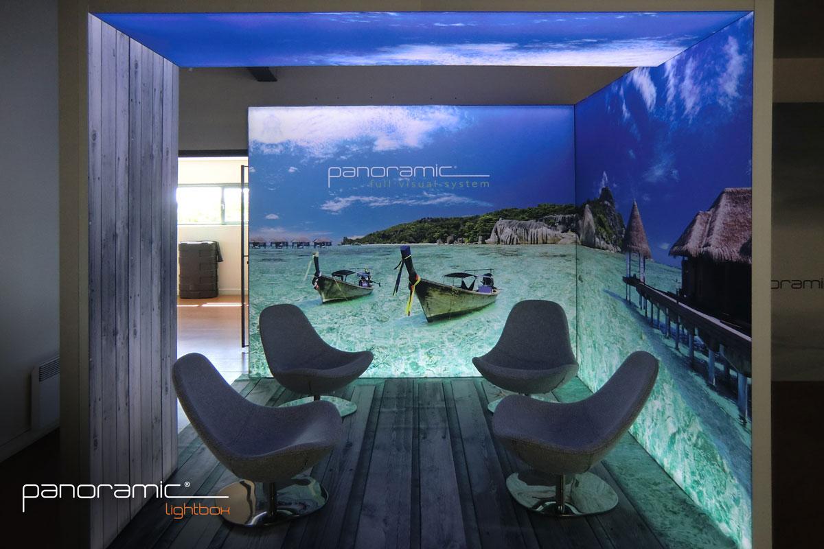 Panoramic Lightbox - Panoramic Full Visual Display System