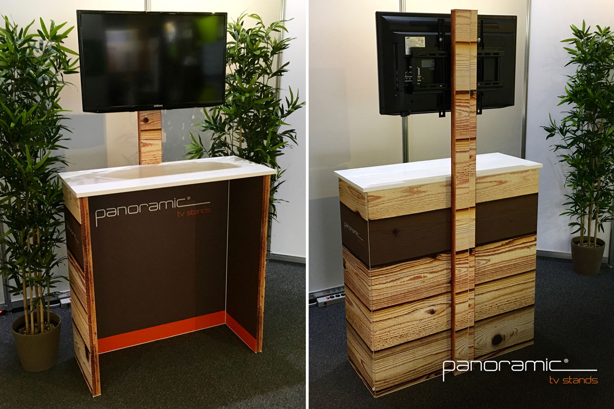 Panoramic TV Stands - Panoramic Full Visual Display System