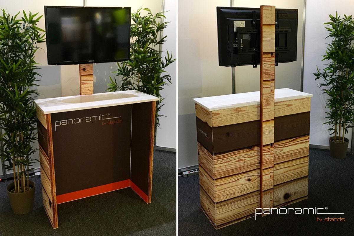 Panoramic TV Stands - Panoramic Full Visual Display System