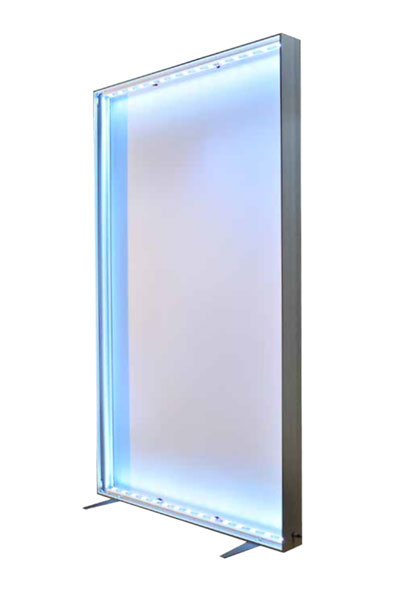 Panoramic Freestanding Lightbox Frame