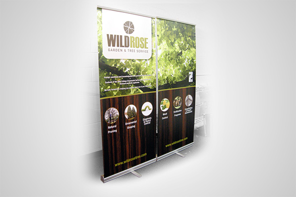 Assorted Banner Stands