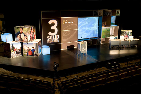 Enbridge Stage Set