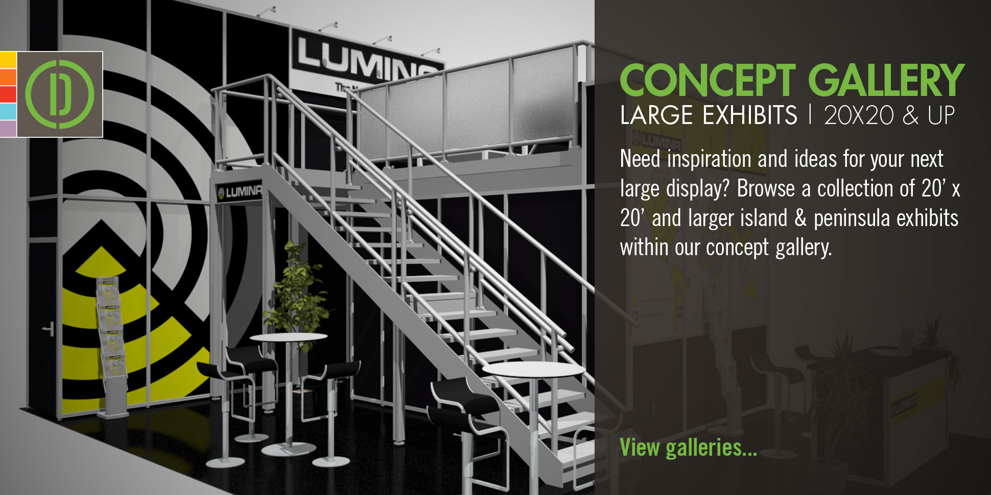 Concept Galleries | Large Exhibits