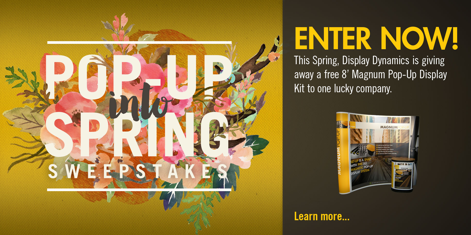 Pop-Up Into Spring Sweepstakes