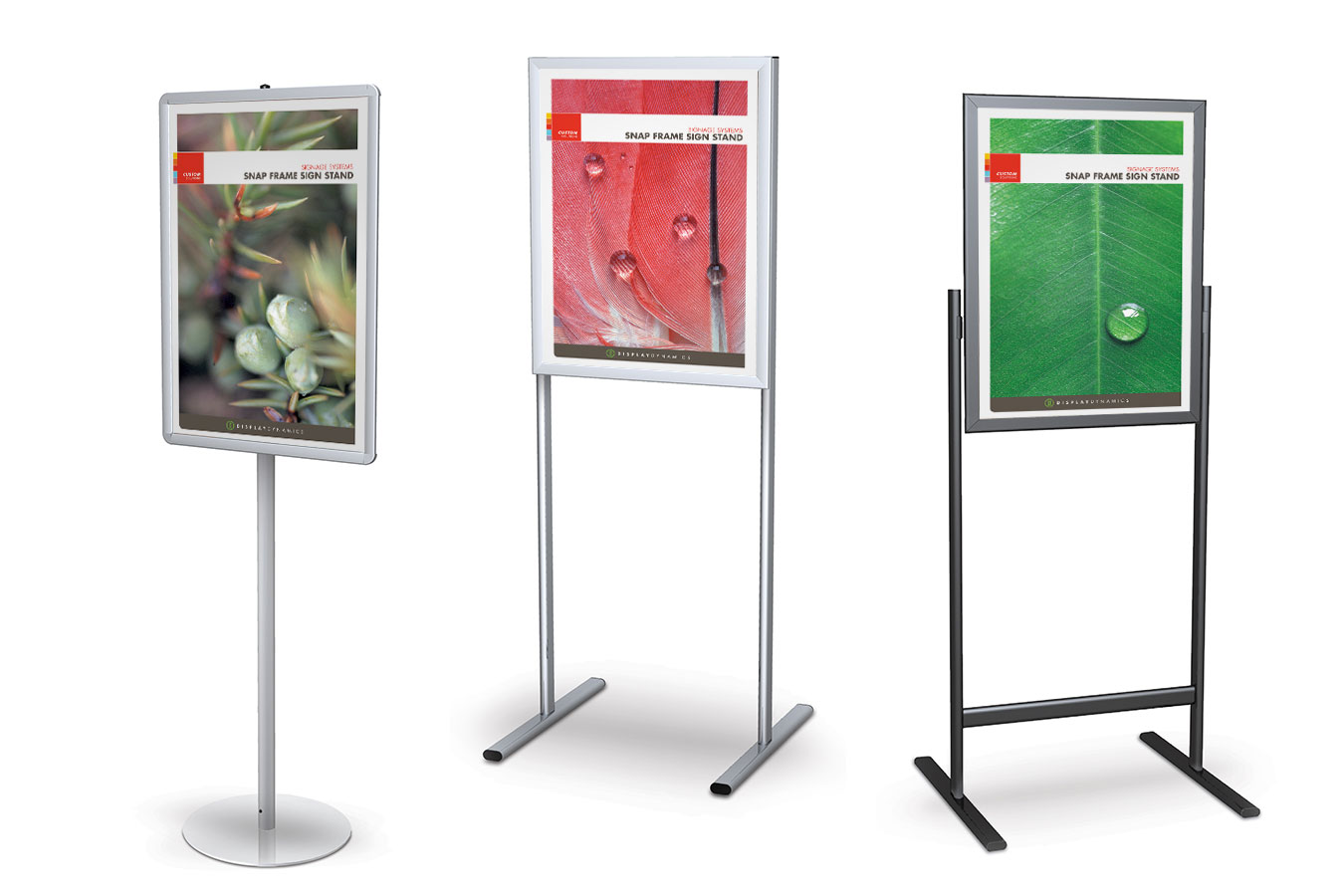 easy front load sign frame stands for graphics up to 24 x 36