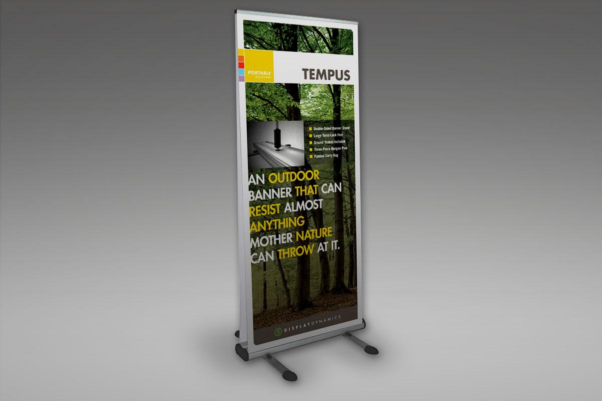 Tempus Banner Stand